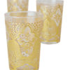 Moroccan glasses tea set